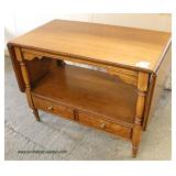 "Mahogany ""Drexel Furniture"" French Provincial One Drawer Drop Side Server  Auction Estimate $100-$3"