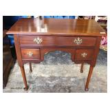 Bench Made SOLID Cherry 3 Drawer Low Boy  Auction Estimate $100-$300 – Located Inside