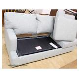 NEW Contemporary Upholstered Sleeper Sofa  Auction Estimate $300-$600 – Located Inside