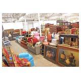 Easter DAY Auction April 21st - Living, Dining, Bath & Bedroom Furniture Patio Decorative Designer