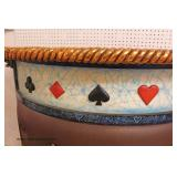— VERY COOL –  NICE 5 Piece Contemporary Decorator Bar in the Card Style Decoration  Auction Estima