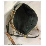 Brand New Unused with Tag  Coach Pebble Crocodile & Snake Embossed Leather Hand Bag  Approximately