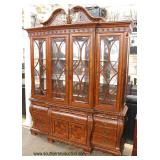 10 Piece Contemporary Carved and in the Chippendale Style Mahogany Dining Room Set  Auction Estimat