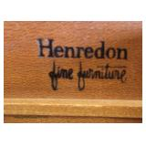"""French Provincial Style """"Henredon Fine Furniture"""" Stenciled High Chest and Low Chest with Mirror  A"""