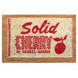 "SOLID Cherry ""Henkel Harris Furniture"" 9 Drawer Bracket Foot Low Chest  Auction Estimate $200-$400"