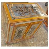 Decorated Mirrored Chest  Auction Estimate $100-$300 – Located Inside