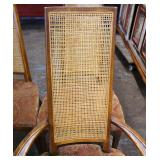 Set of 6 Mid Century Modern Danish Walnut High Back Chairs Sold by J.B. VanSciver  Auction Estimate