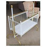 Metal and Brass Baby Crib  Auction Estimate $20-$100 – Located Field