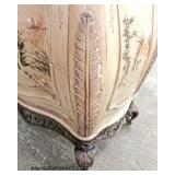 Paint Decorated Bombay Metal Frame Decorator Chest  Auction Estimate $100-$300 – Located Inside