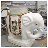 Asian Elephant Garden Stool  Auction Estimate $50-$100 – Located Inside