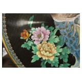 Large Asian Cloisonné Charger on Display  Auction Estimate $100-$200 – Located Inside