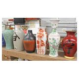 Large Selection of Asian Vases and Jugs  Auction Estimate $20-$200 – Located Inside