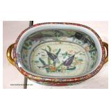 Large Asian Double Handle Bowl  Auction estimate $100-$300 – Located Inside