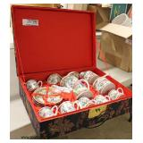 Large Asian Decorated Tea Set in the Original box  Auction Estimate $100-$300 – Located Inside