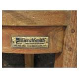 """PAIR of """"Bench Smith"""" Teak Wood Outdoor Arm Chairs  Auction Estimate $300-$600 – Located Field"""