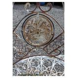 VINTAGE Metal Decorator Tete-a-Tete  Auction Estimate $100-$300 – Located Field