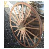 VINTAGE Wagon Wheel  Auction Estimate $100-$300 – Located Field