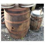Selection of Wine Barrels  Auction Estimate $100-$300 – Located Field