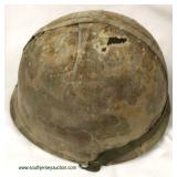 WWII m-1 Front Seam First Model Cover Helmet  Auction Estimate $300-$600 – Located Inside