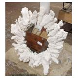 Decorator Mirror  Auction Estimate $50-$100 – Located Inside