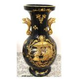 Porcelain with Gold Overlay French Style Vase Marked Limoges PRG  Auction Estimate $100-$200 – Loca