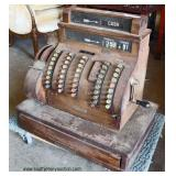 ANTIQUE National Cash Register  Auction Estimate $50-$100 – Located Inside