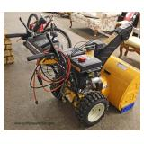 LIKE NEW Cub Cadet 528 SW Snow Blower 87CC OHV  Auction Estimate $200-$400 – Located Inside