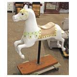 Decorator Carousel Horse  Auction Estimate $100-$300 – Located Inside
