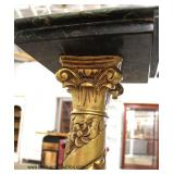 NICE PAIR of Bronze and Marble Pedestals  Auction Estimate $300-$600 – Located Inside