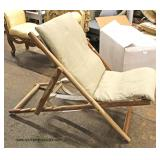 Teak Wood Lounge Chair  Auction Estimate $100-$300 – Located Inside