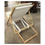 Teak Wood Lounge Chair  Auction Estimate $100-$300 – Located Inside