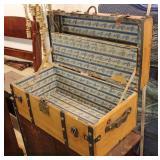 ANTIQUE Seaman's Trunk with Interior  Auction Estimate $100-$300 – Located
