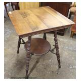 ANTIQUE Parlor Table   Auction Estimate $30-$80 – Located Inside