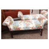PAIR of Chippendale Upholstered Window Benches   Auction Estimate $300-$600 – Located Inside