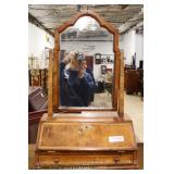 ANTIQUE Early 19th Century SOLID Mahogany Dressing Mirror   Auction Estimate $300-$600 – Located Ins