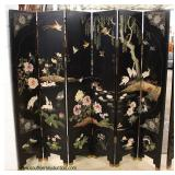6 Panel Asian Decorated Screen   Auction Estimate $400-$800 – Located Inside