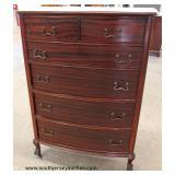 One of Several Mahogany High Chest  Auction Estimate $100-$300 – Located Inside