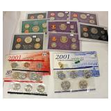 Large Collection of United States Proof Sets  Auction Estimate $5-$10 each – Located Inside