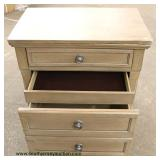 NEW 3 Drawer Night Stand with Hidden Drawer  Auction Estimate $50-$100 – Located Inside