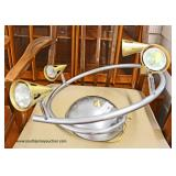 Modern Design Light Fixture  Auction Estimate $20-$100 – Located Inside