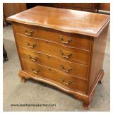 "Mahogany Bracket Foot ""Permacraft Furniture"" Bachelor Chest  Auction Estimate $100-$300 – Located In"