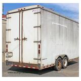 2003 Pace Trailer - Nice Inside too !  Model #CS816TA2  GVWR 12,000   Vin #40LAB 18253 P0897 12