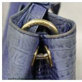 """Brahmin"" Designer Blue Hand Bag  Auction Estimate $100-$300 – Located Inside"