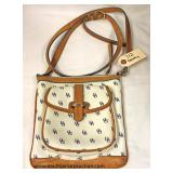 """Dooney & Bourke"" Designer Cross Body Purse  Auction Estimate $100-$300 – Located Inside"