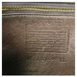 "Brown Leather ""Coach"" Designer Purse  Auction Estimate $100-$300 – Located Inside"