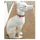 Composition Dog Statue  Auction Estimate $50-$100 – Located Inside