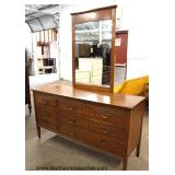 "Mid Century Modern ""Harmony House Furniture"" High Chest and Low Chest with Mirror  Auction Estimate"