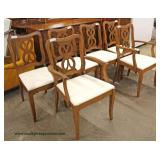 "8 Piece ""Bassett Furniture"" Mahogany Dining Room Set  Auction Estimate $200-$400 – Located Inside"