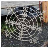 Water Feature and Metal Plant Stand  Auction Estimate $20-$100 – Located Field