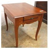 "Selection of ""Ethan Allen Furniture"" Cherry Tables  Auction Estimate $50-$200 – Located Inside"